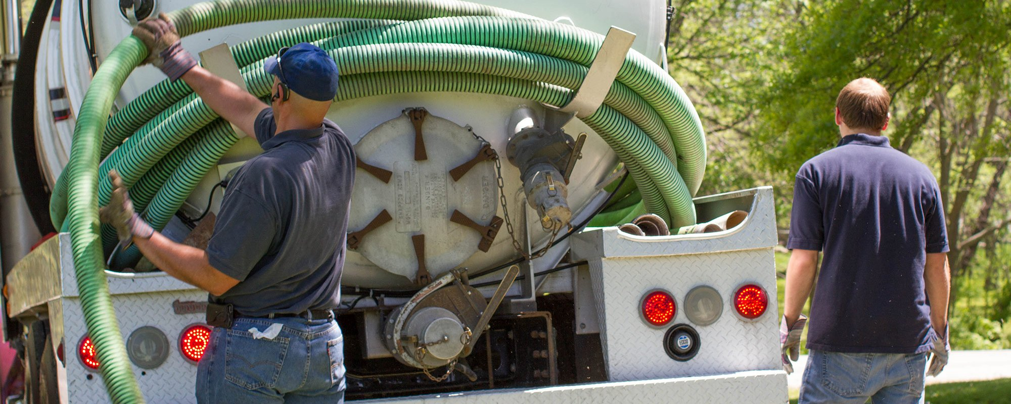 Septic Tank Pumping & Grease Trap Cleaning - Honey Wagon